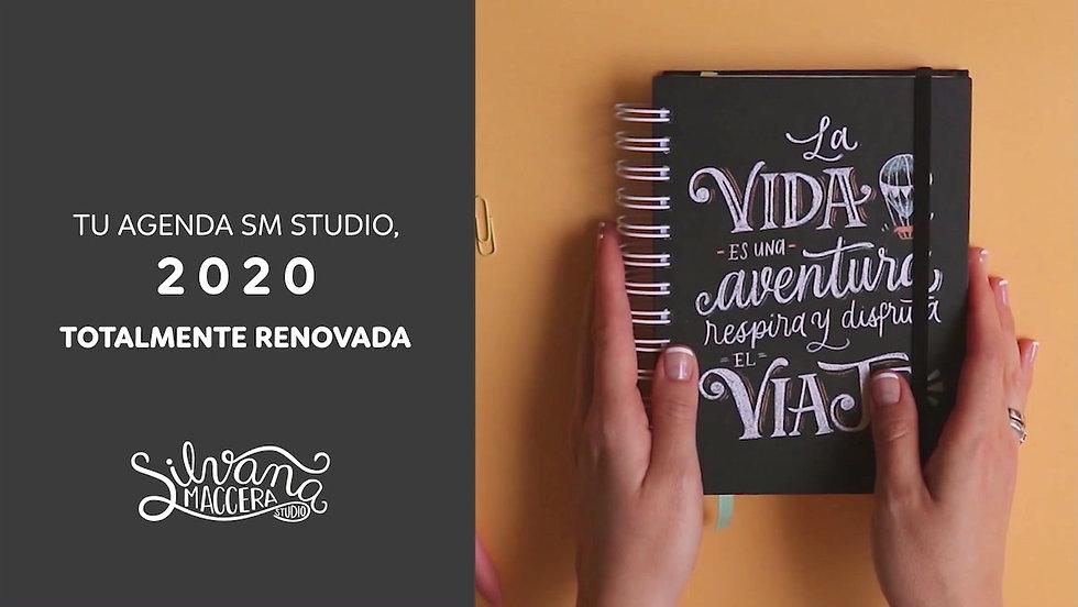 Todos los detalles que quieres saber de tu agenda SM Studio