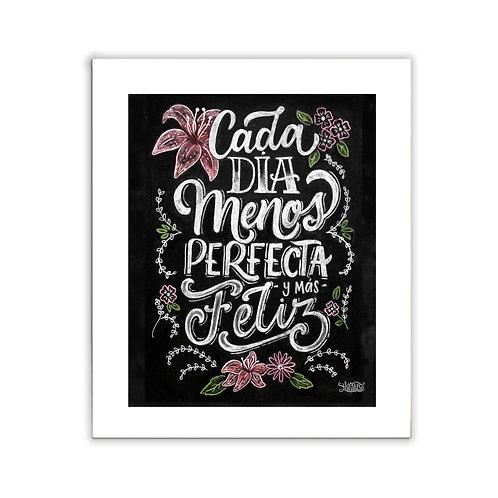 "Cuadro ""Menos perfecta"""