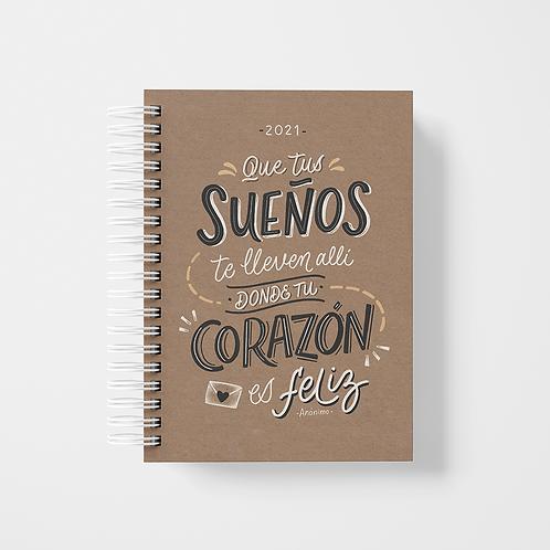 """Agenda 2021 - """"Sueños"""" / craft"""