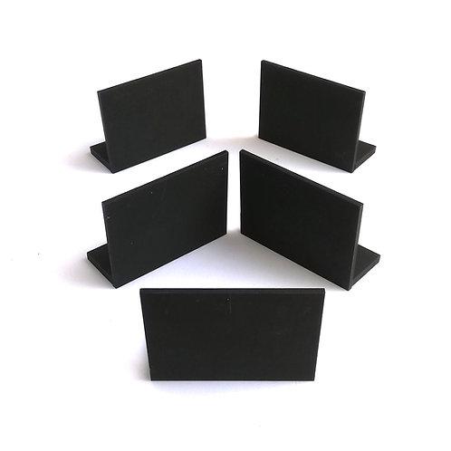 Set x 5 minipizarras con base