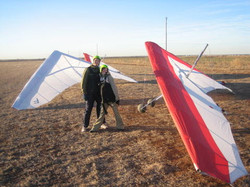 we went hang gliding 2006