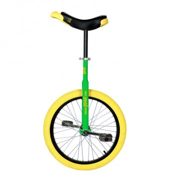 """QX 20 """" Trainer. Best Choice for First Unicycle. Qu-Ax-luxus-20-trainer-unicycle"""