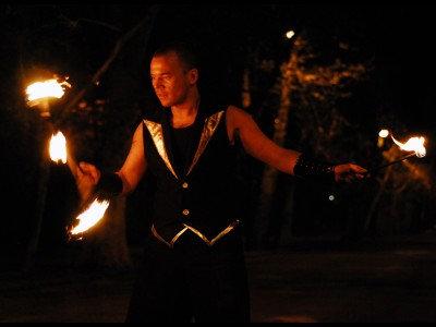 Gora Fire Flower Stick