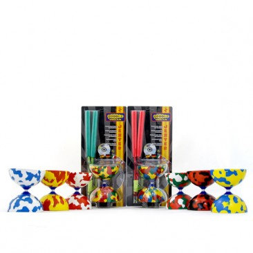 Jester Diabolo, 'Pro Sticks' & DVD - Pack