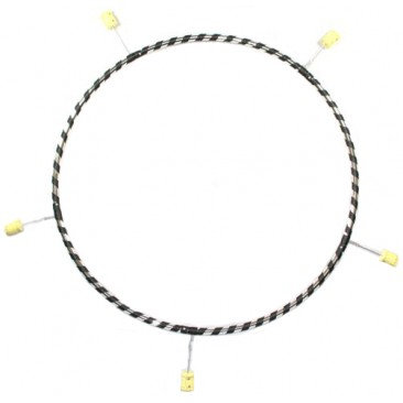 Gora - 5 Section Poly Pro Travel Fire Hula Hoop by Gora