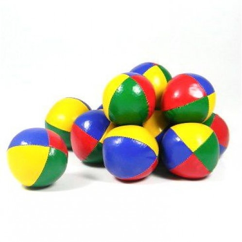 Set of 5 Juggling Ball 'Thuds' - 120gm