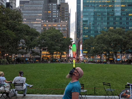 Bryant Park Juggling is Back 2020!