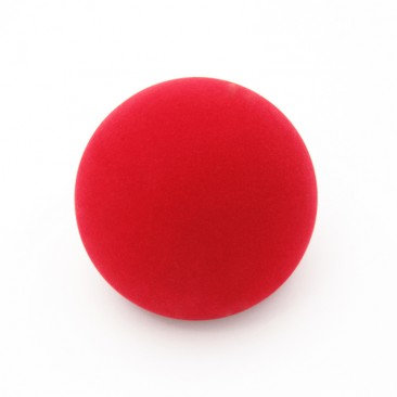Play 100mm Red Velvet Contact Ball