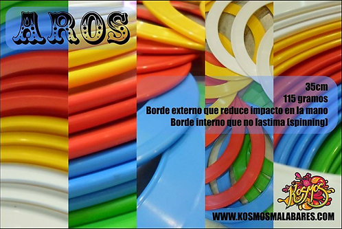 Kosmos 35cm Juggling Rings (W/finger protection)