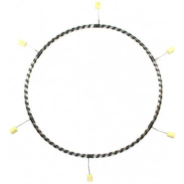 6 section Travel Fire Hula Hoop by Gora