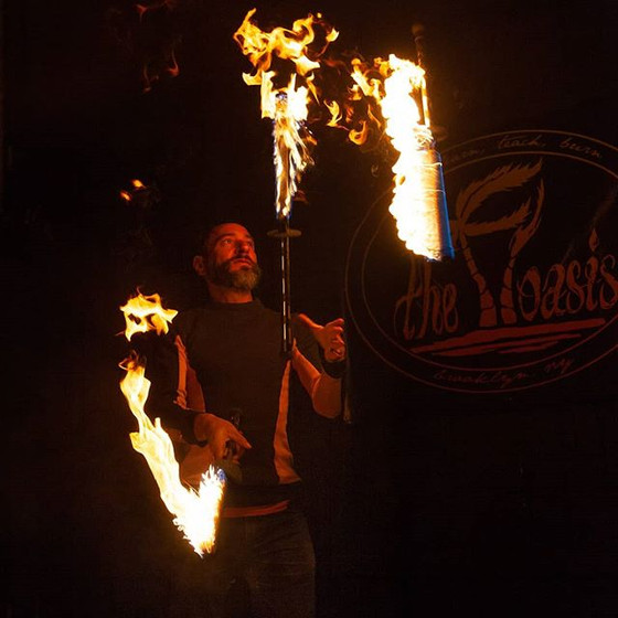 Juggling Meetings : Circus Jam (Fire), BP Jugllers and NYU Violet Circus Arts