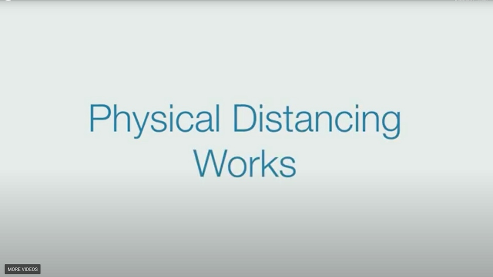 Physical Distancing Works