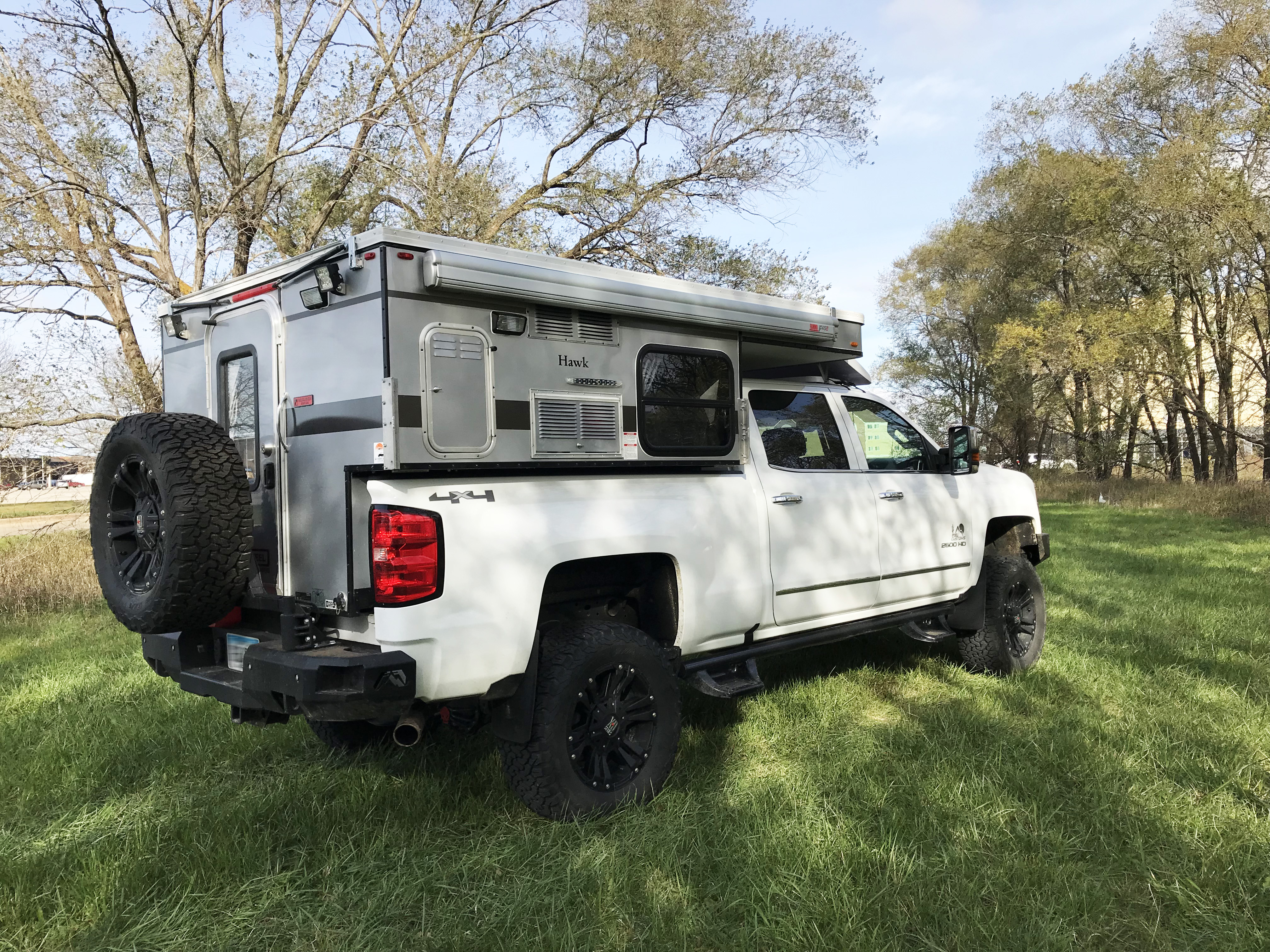 2017 Silverado 2500 Camper