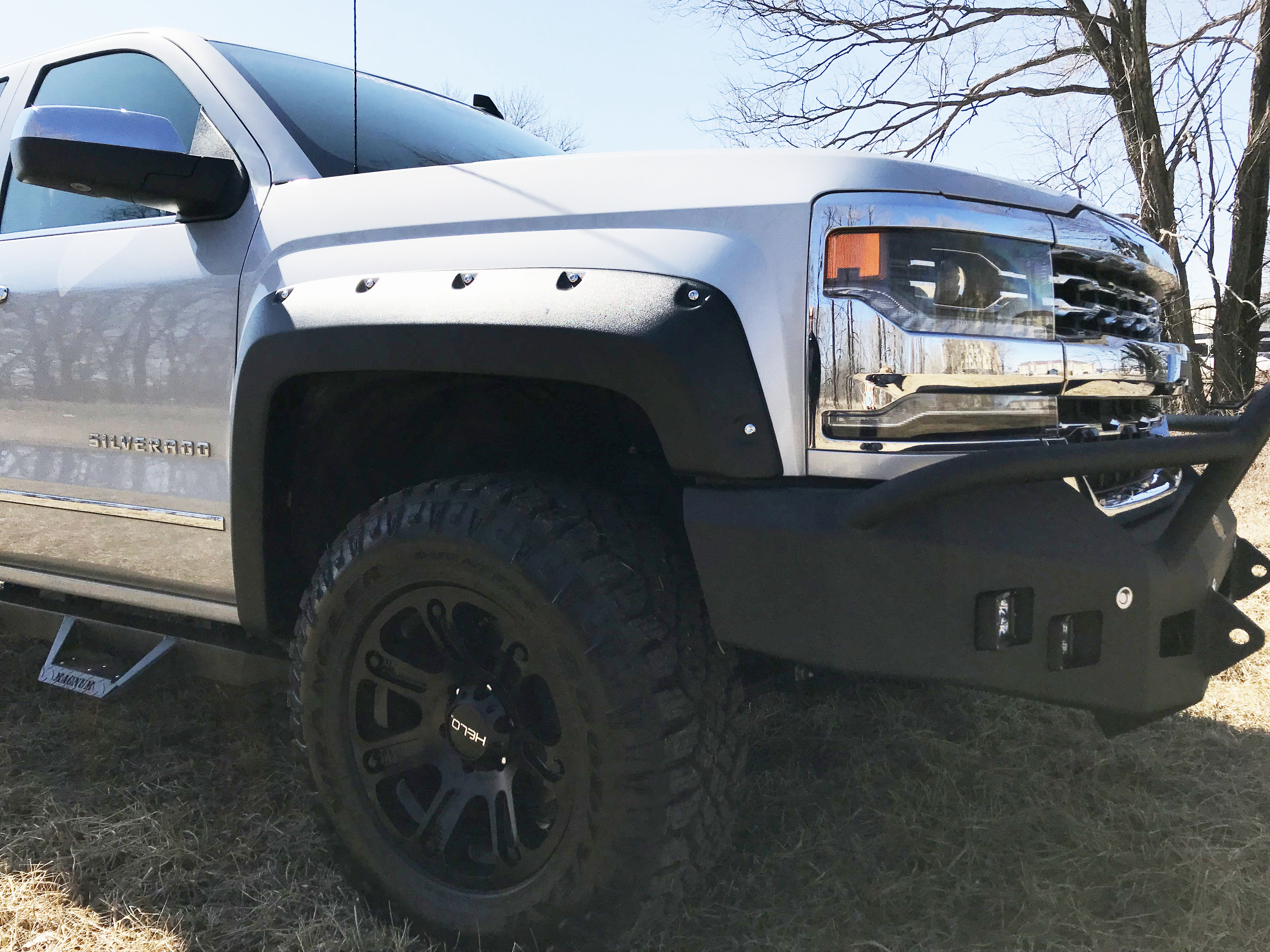 Upfitted 2017 Chevy Silverado 1500