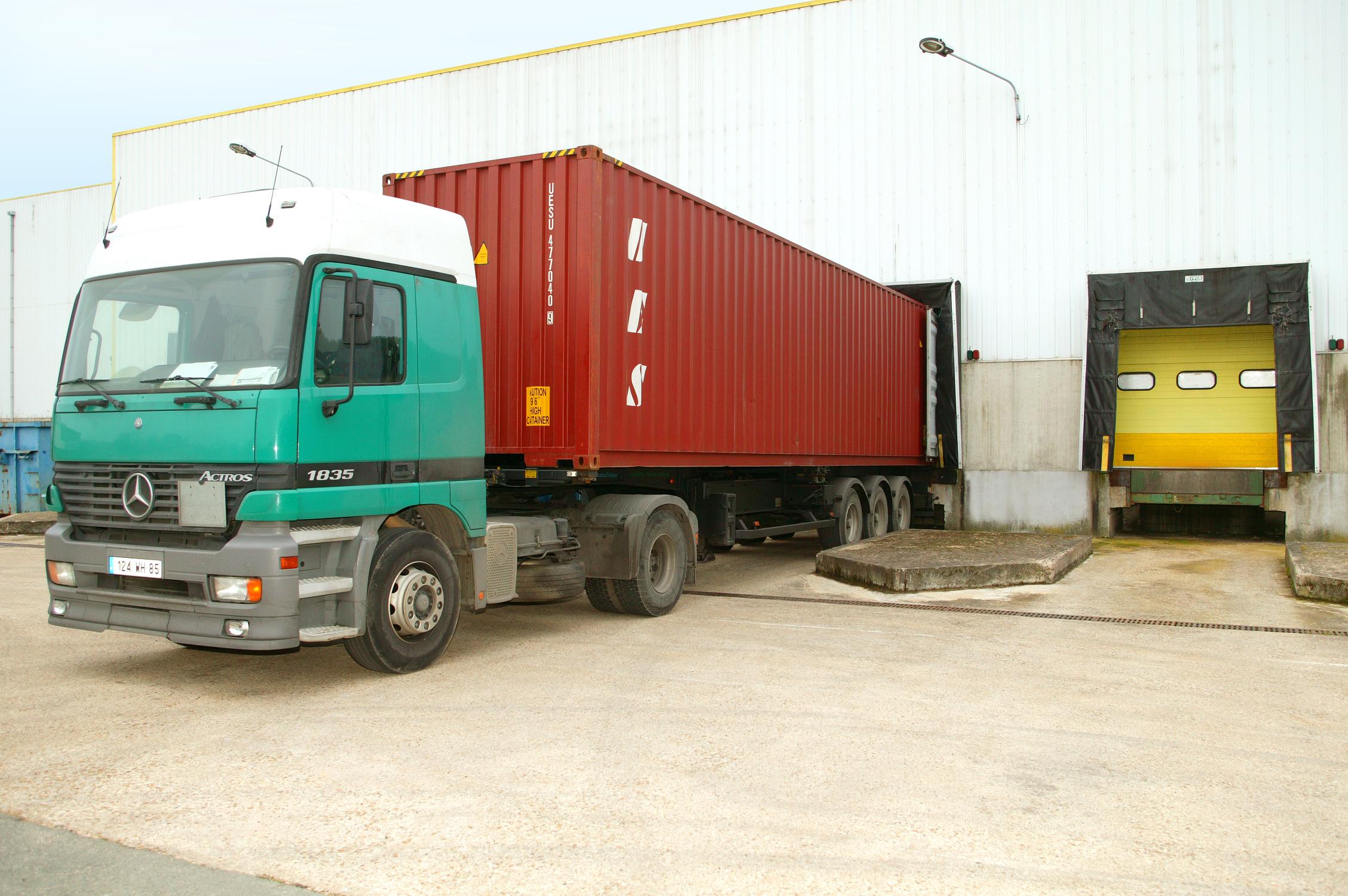 Chargement de camion