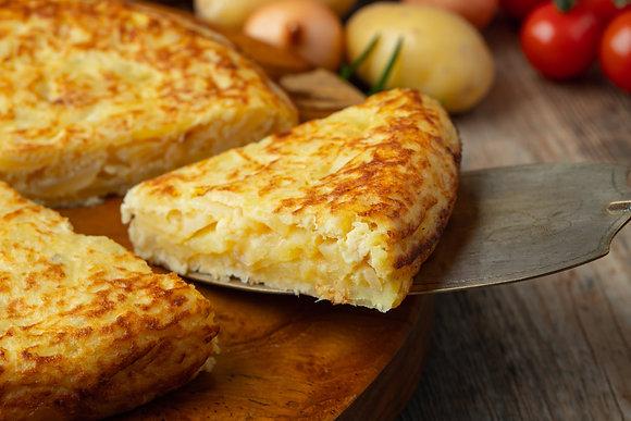 Tortilla Española (span. Kartoffel-Omelette)