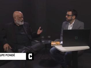 Entrevista ao vivo com Luiz Felipe Pondé