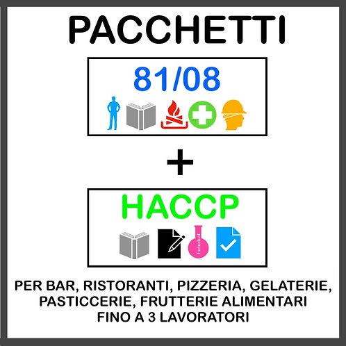 PACCHETTO 81/08 + HACCP