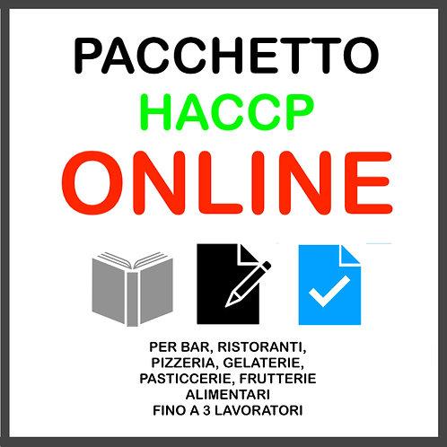 PACCHETTO HACCP ONLINE