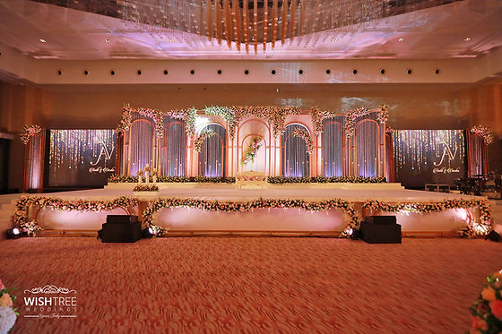 Premium wedding stage decor