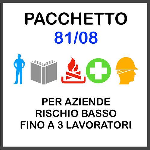 PACCHETTO 81/08
