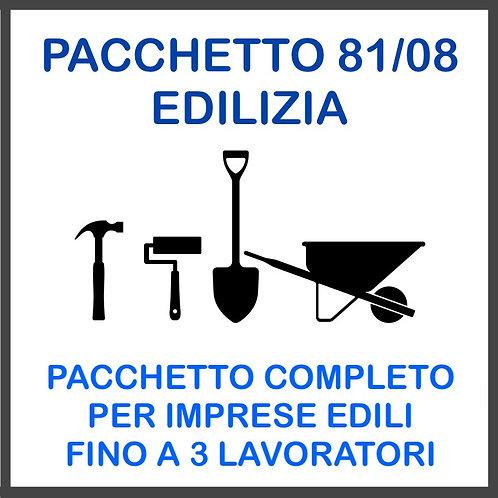PACCHETTO 81/08: EDILIZIA