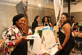 Paint On Purpose Private Paint and Sip Atlanta