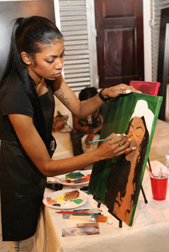 Artist Tiffany Davis