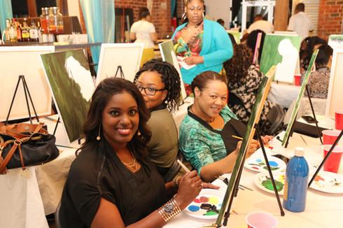 We love groups!- Paint On Purpose