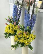 ラウンジ定期装花