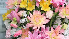 卒園式のお花
