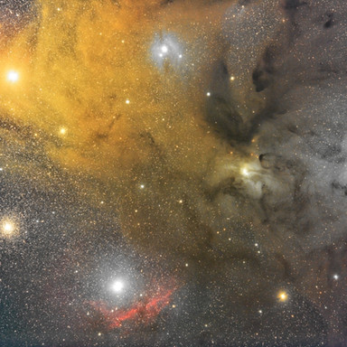 NEBULAE AROUND ANTARES