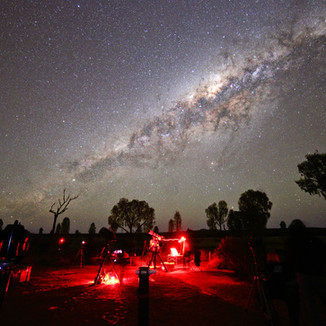 STAR PARTY in the NORTHERN TERRITORY