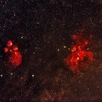 NGC 6357 & NGC 6334