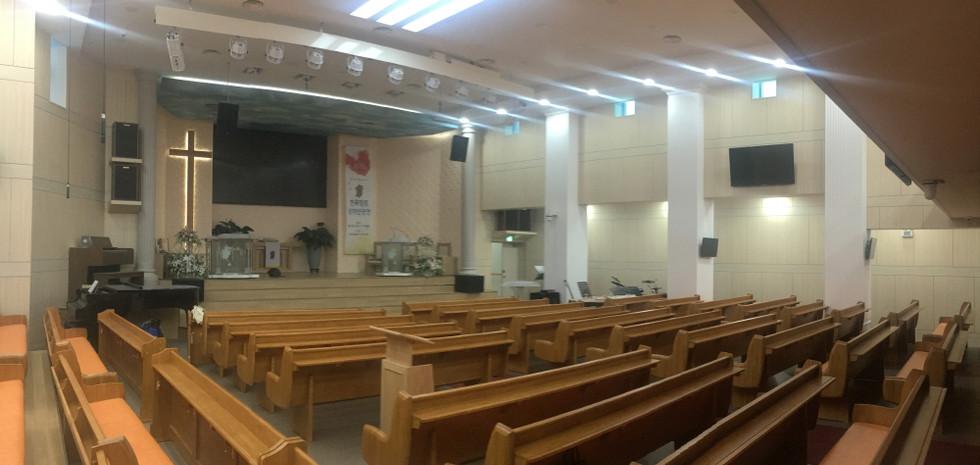 난곡신일교회 본당 리노베이션