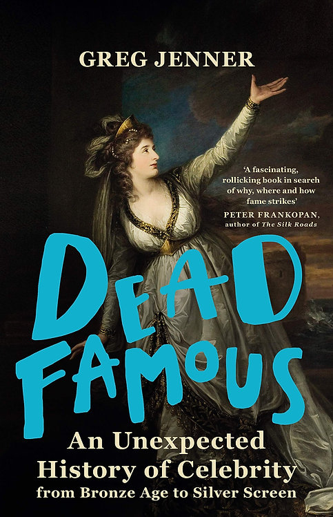 Dead Famous - with signed bookplate!
