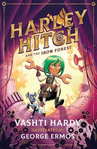 Harley Hitch and the Iron Forest - with SIGNED bookplate and map!