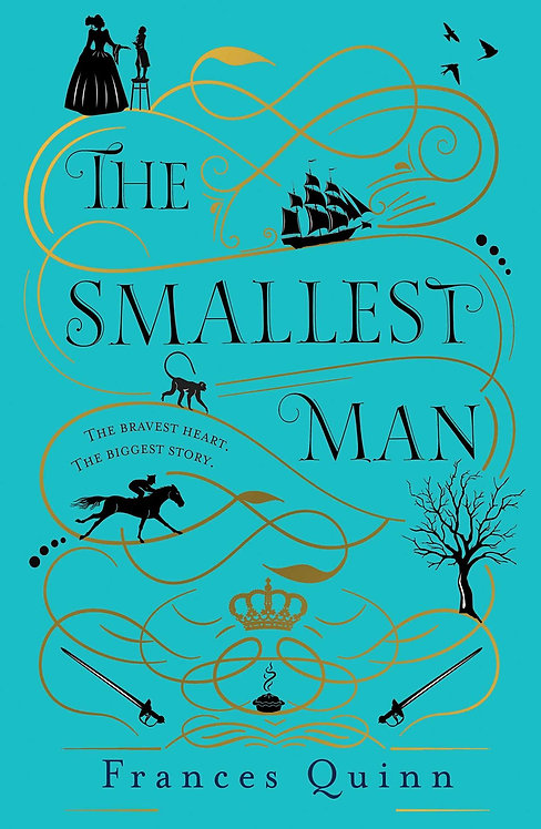 The Smallest Man (PB) - with SIGNED bookplate & FREE bookmark!