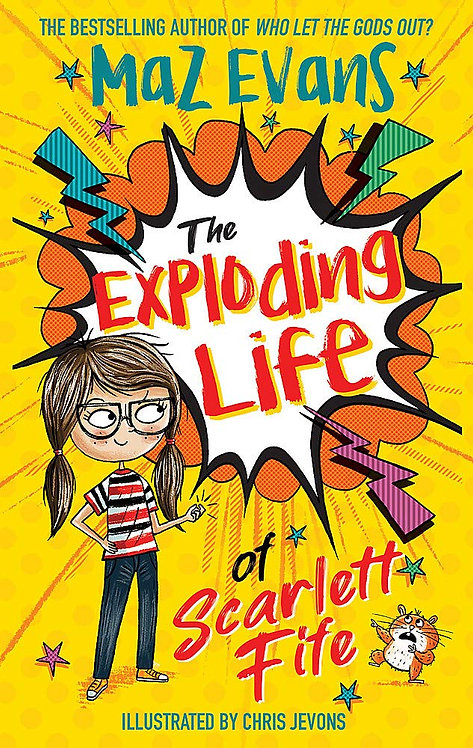 The Exploding Life of Scarlett Fife - with SIGNED bookplate