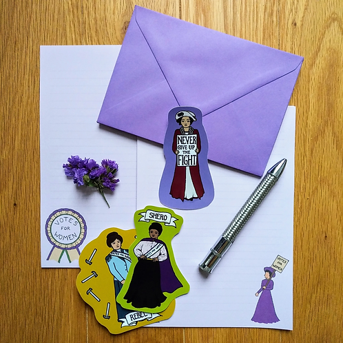 Suffragette Sticker set