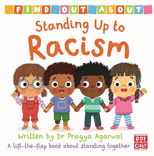 Standing Up to Racism: A lift-the-flap board book