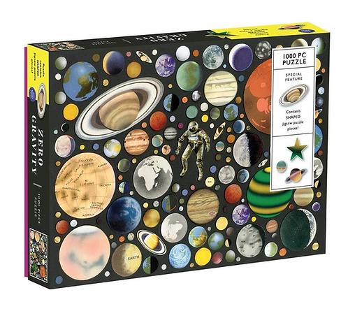 Zero Gravity - 1000 piece jigsaw puzzle