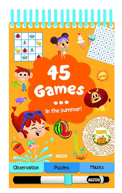 45 Games in the Summer