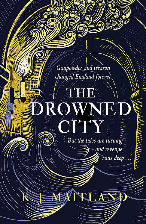 The Drowned City -SIGNED 1st editions!