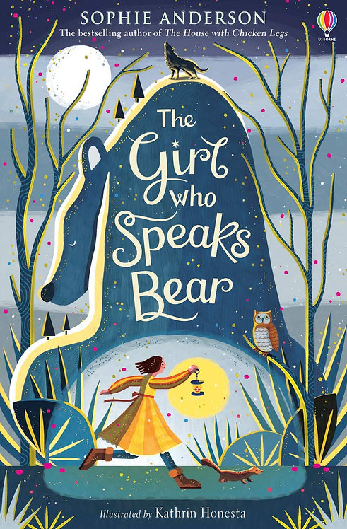 The Girl Who Speaks Bear - with SIGNED postcard