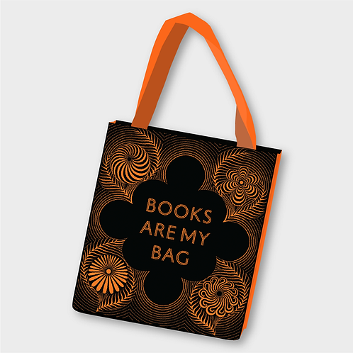 Books Are My Bag Tote by Yehrin Tong