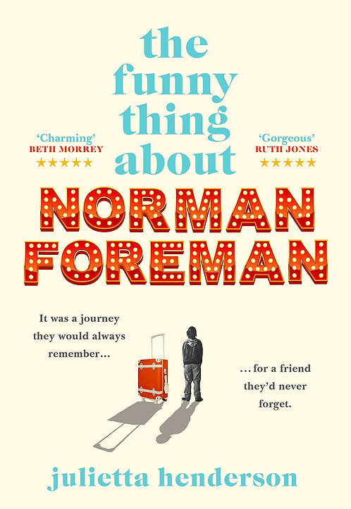 The Funny Thing about Norman Foreman - with SIGNED bookplate*!