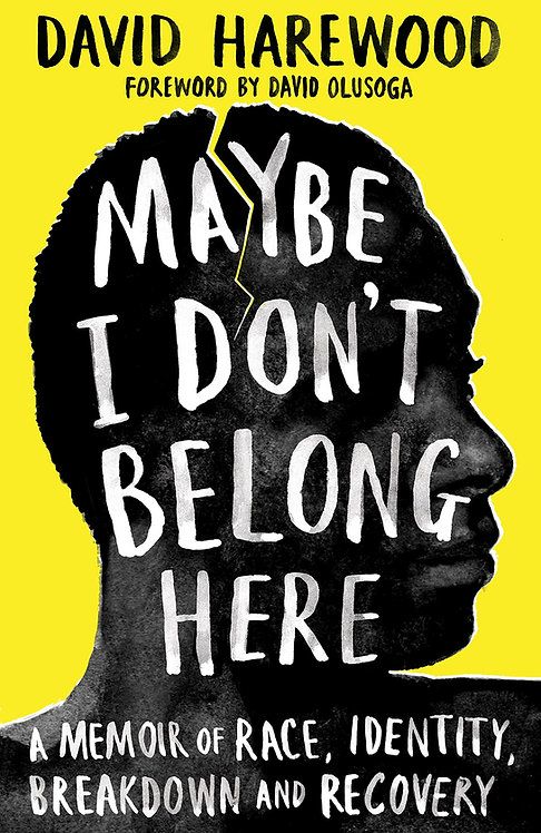 Maybe I Don't Belong Here - SIGNED 1st edition