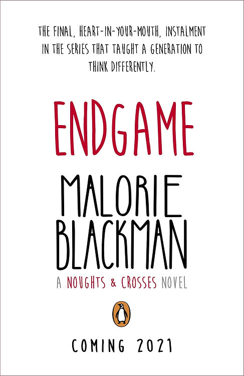PRE-ORDER Endgame (Noughts and Crosses) - with SIGNED bookplates! - 16/9/21