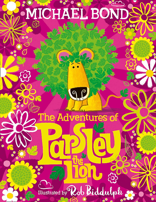 The Adventures of Parsley the Lion - with signed bookplates!